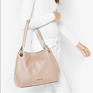 Michael Kors Raven Leather Bag